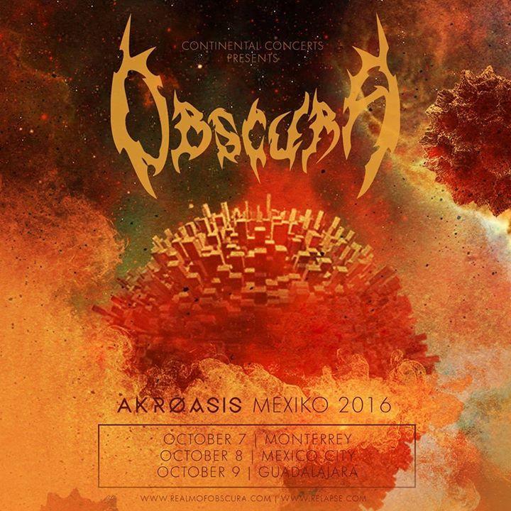 Obscura Tour Dates