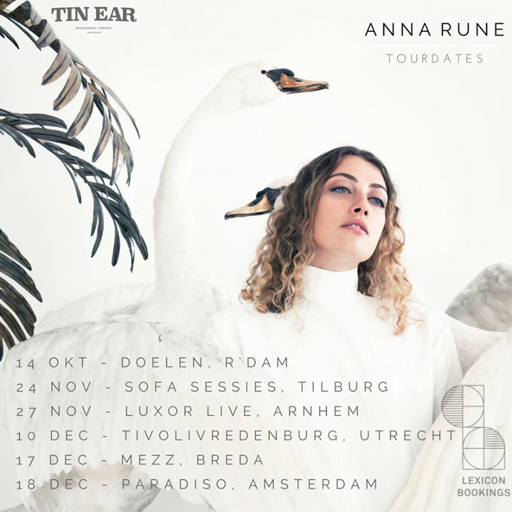 Anna Rune Tour Dates