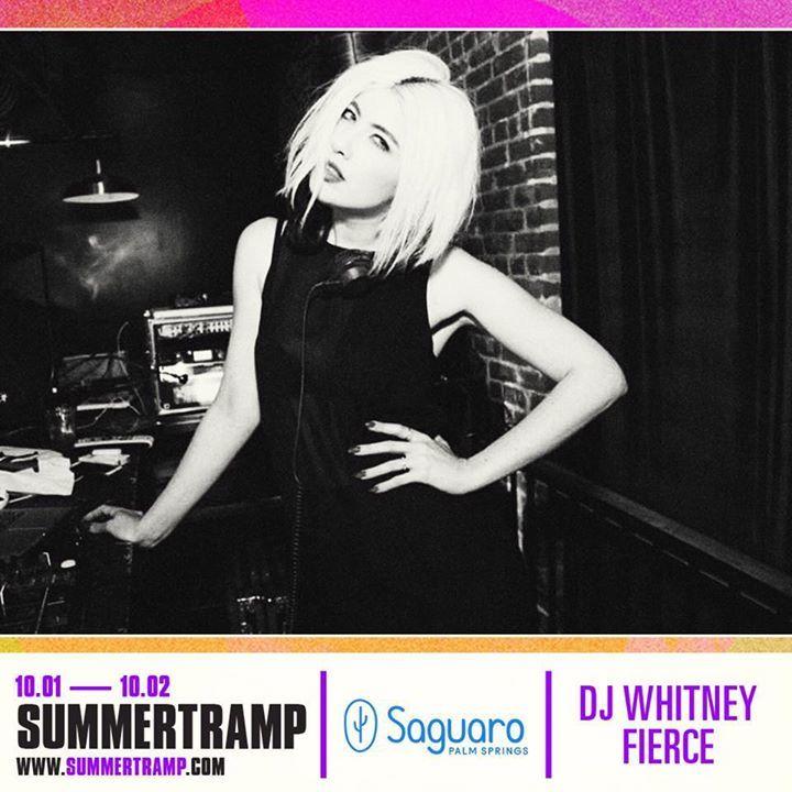 DJ WHITNEY FIERCE Tour Dates