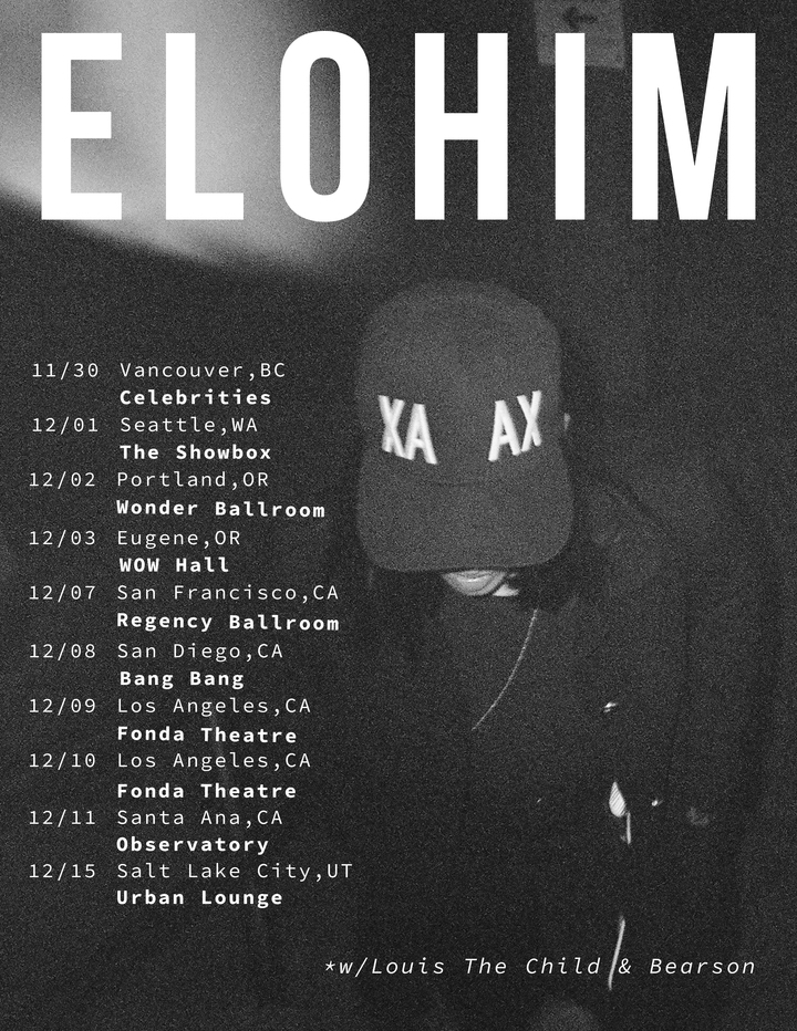 Elohim @ Urban Lounge - Salt Lake City, UT