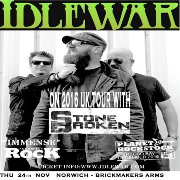 Idlewar Tour Dates