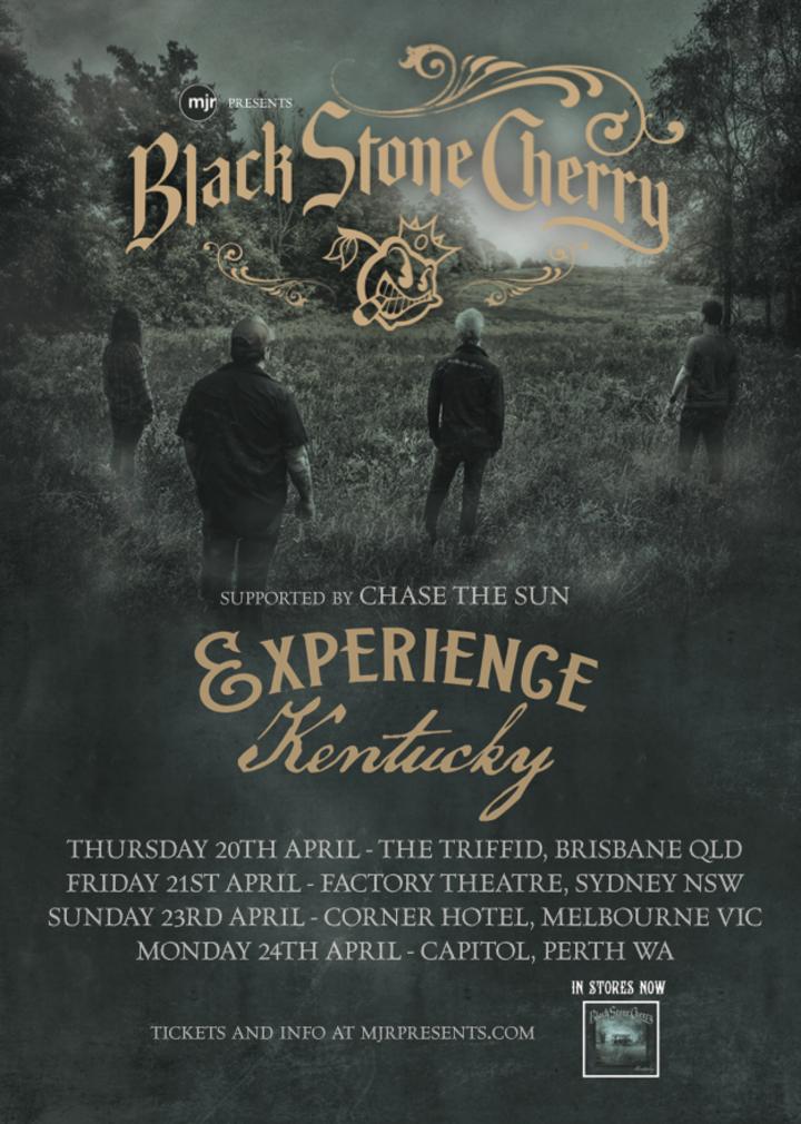 Black Stone Cherry @ The Triffid - Brisbane, Australia