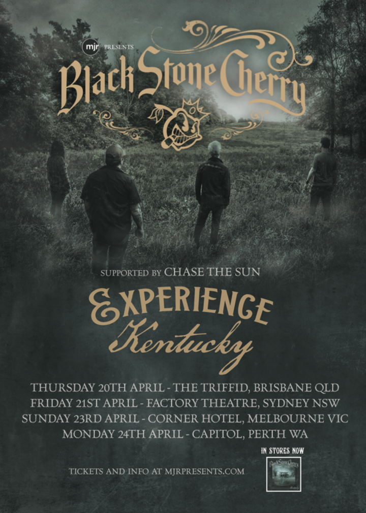 Black Stone Cherry @ Factory Theatre - Marrickville, Australia