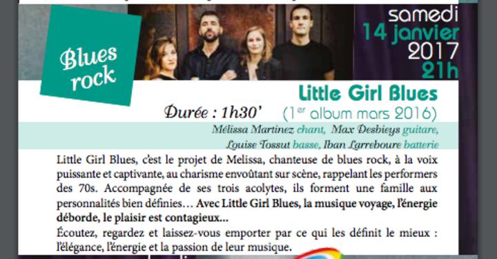 Little Girl Blues @ Salle Roger Hanin - Soustons, France
