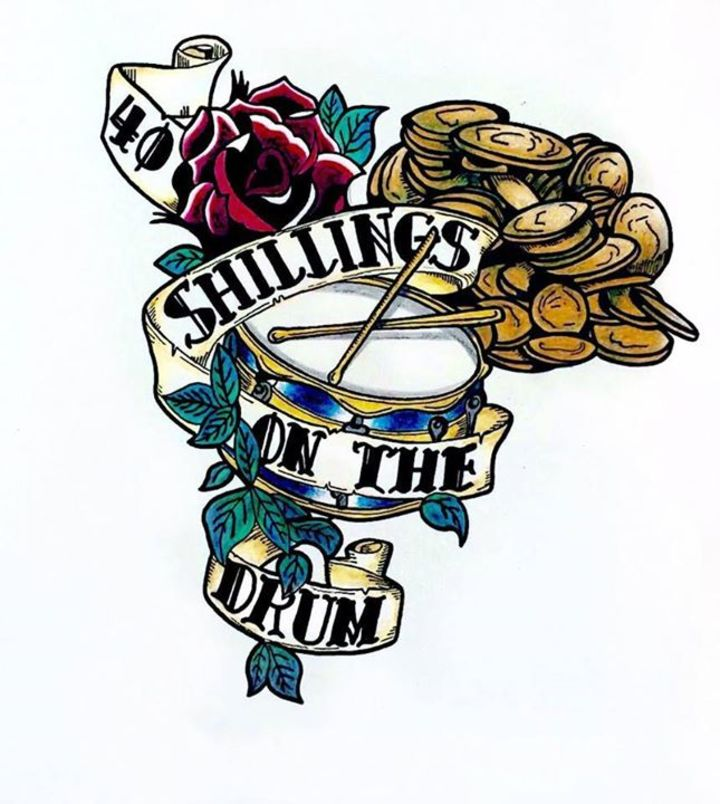 40 Shillings On The Drum Tour Dates