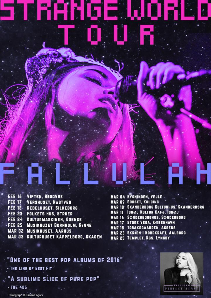 Fallulah @ Skråen i Nordkraft - Aalborg, Denmark