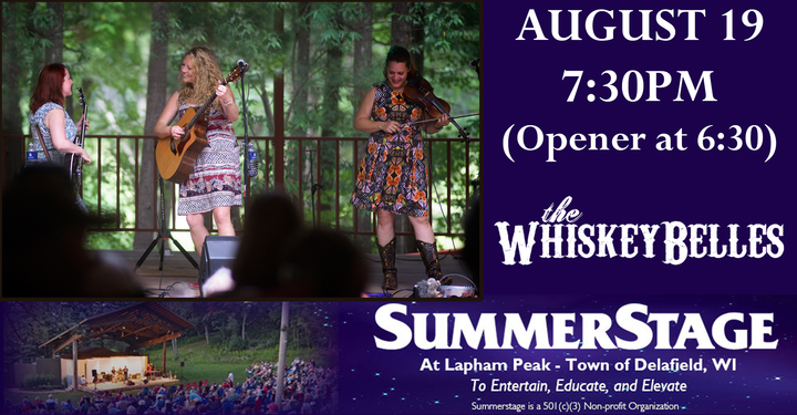 The Whiskeybelles @ SummerStage of Delafield - Delafield, WI