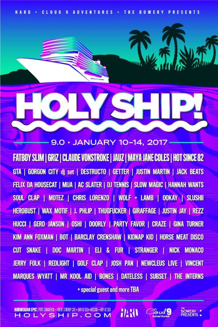 Vincent @ Holy Ship! 9.0 - Cocoa Beach, FL