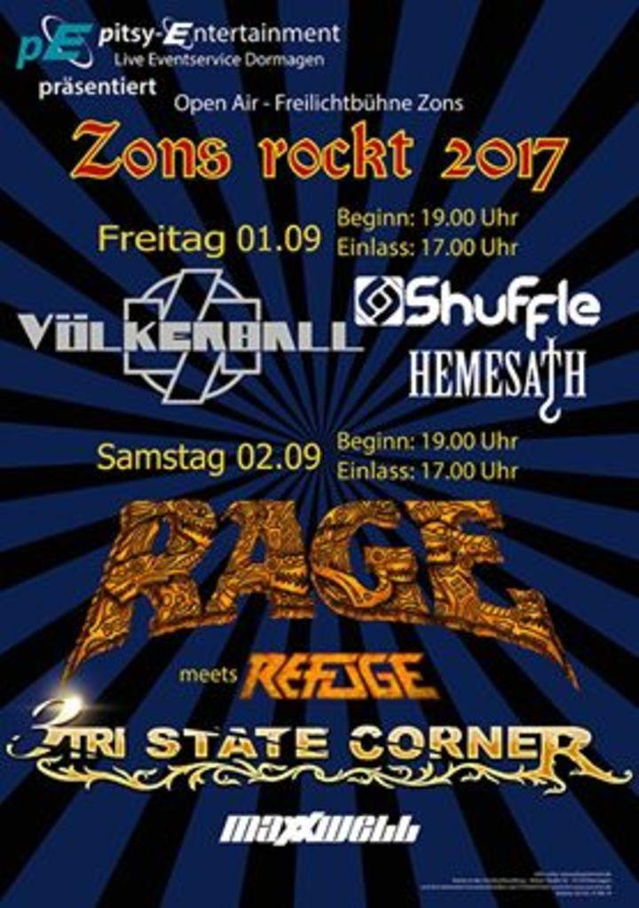 Shuffle (FR) @ Zons Rockt festival - Dormagen, Germany