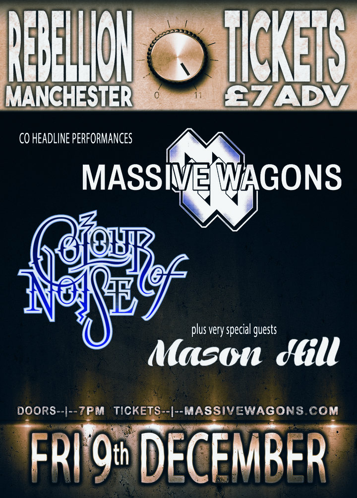 Massive Wagons @ Rebellion - Manchester, United Kingdom