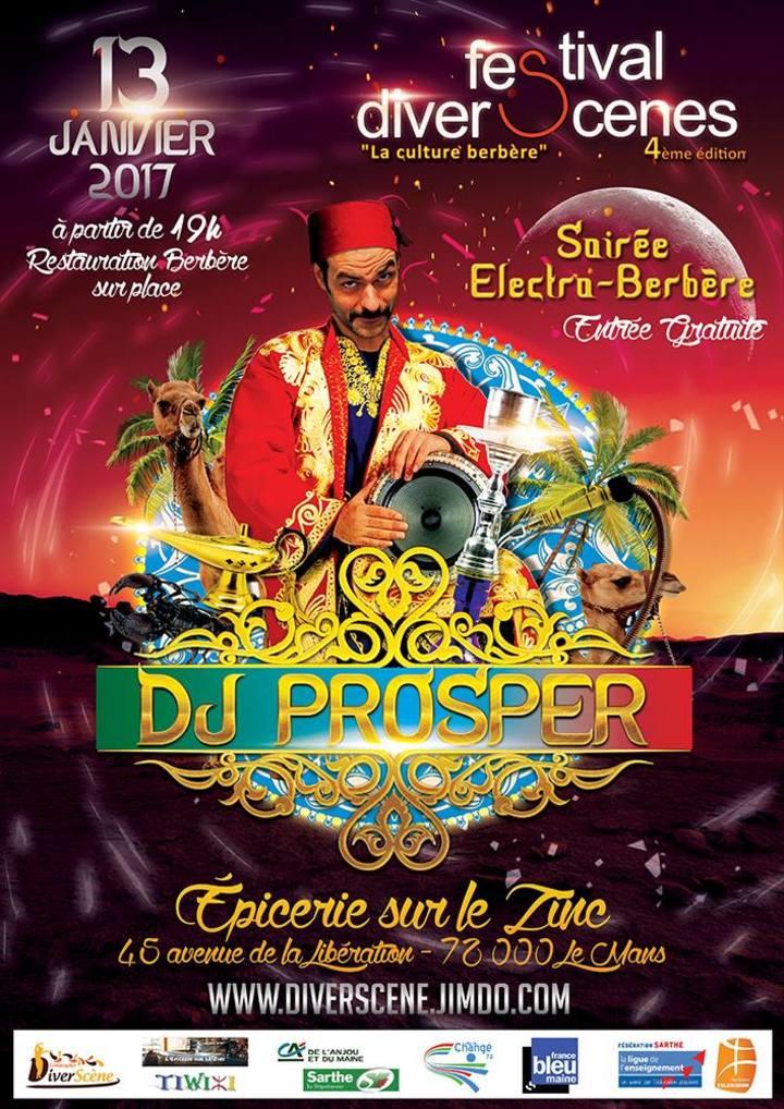 Prosper (Dj) @ Set Electro Berbère @ L'Epicerie Sur Le Zinc - Le Mans, France