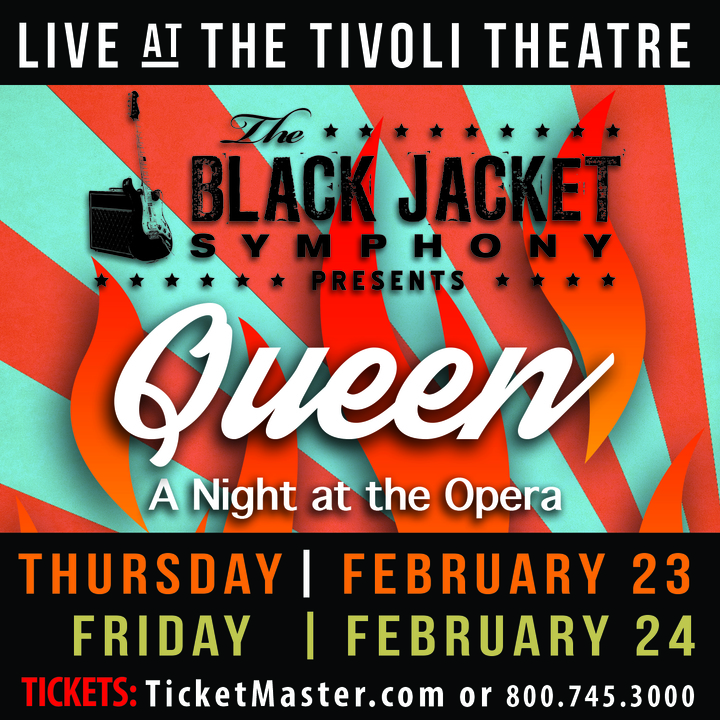 "The Black Jacket Symphony @ Tivoli Theatre - Performing Queen's ""A Night at the Opera"" - Chattanooga, TN"