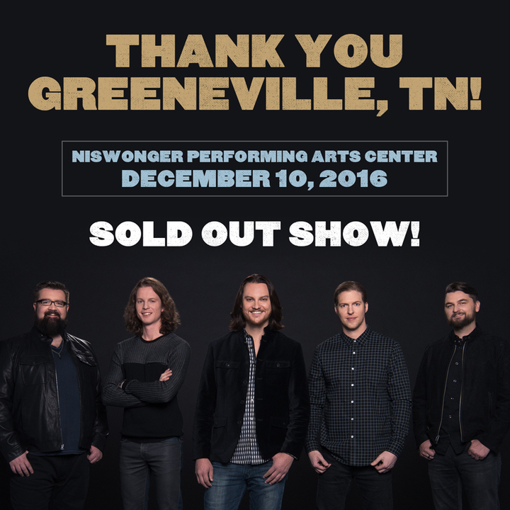 Home Free @ Niswonger Performing Arts Center - Greeneville, TN