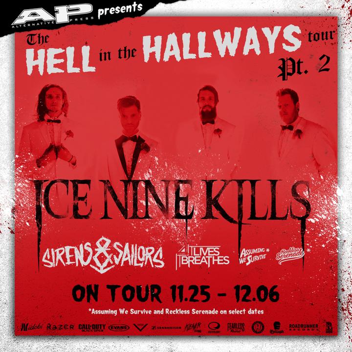 Ice Nine Kills @ Zaphod Beeblerox - Ottawa, Canada