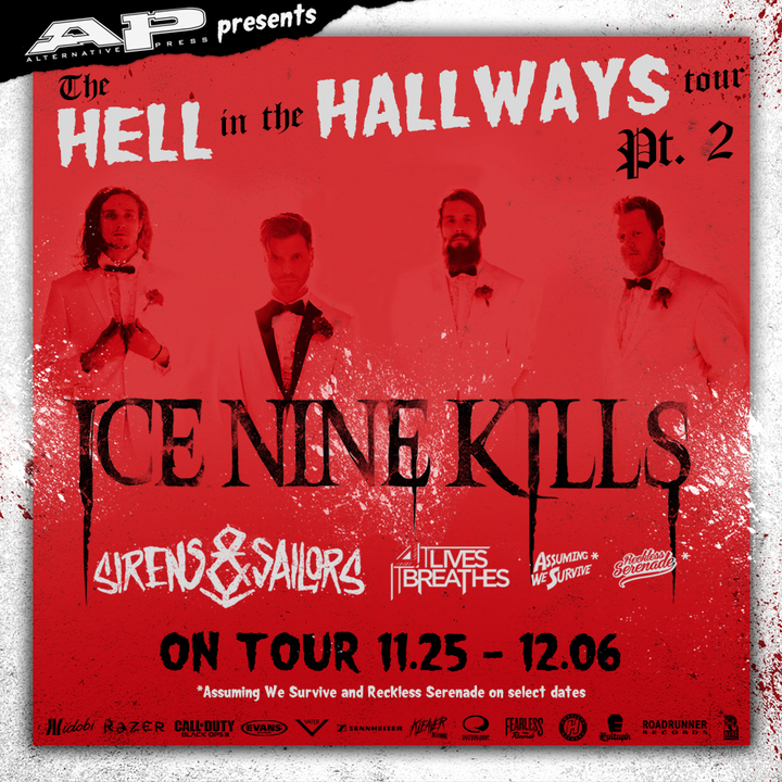 Ice Nine Kills @ Sneaky Dees - Toronto, Canada