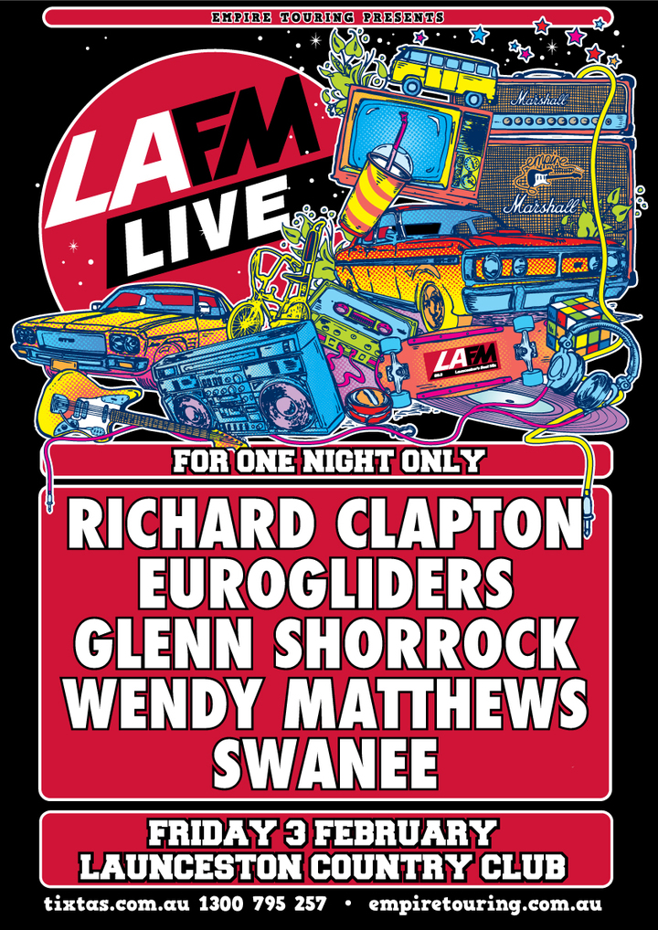 Eurogliders @ LA FM Live - Country Club Showroom - Launceston, Australia