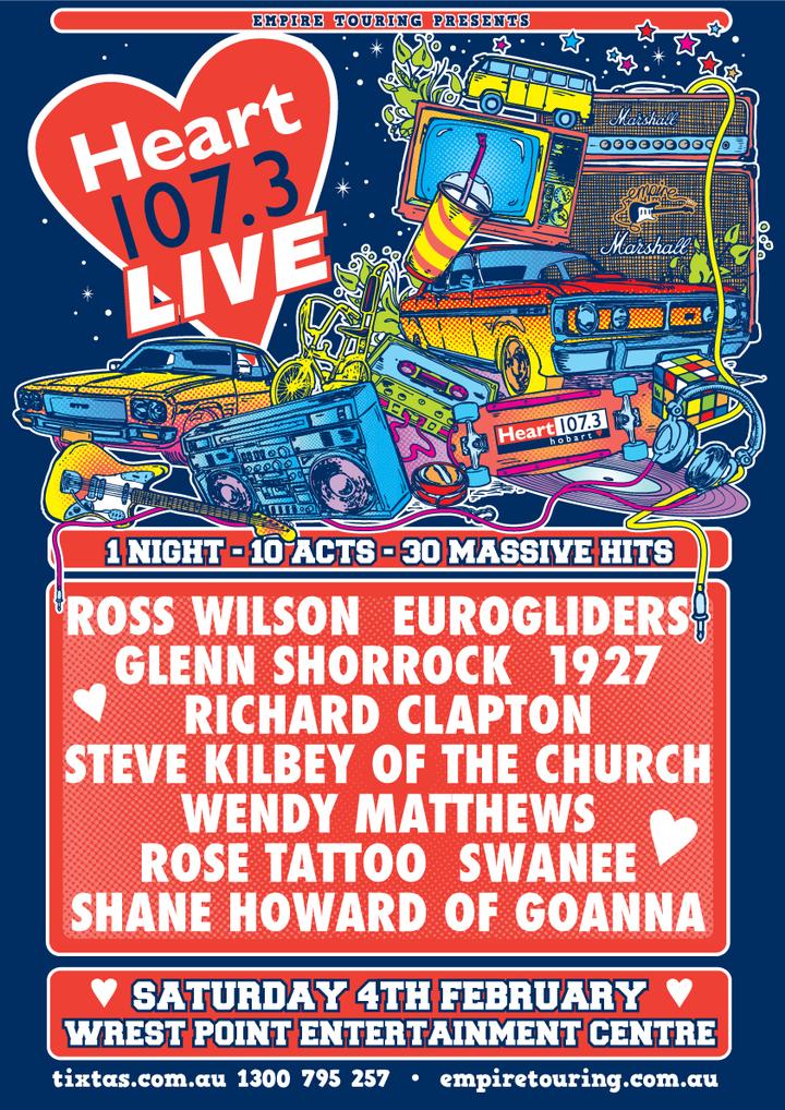 Grace Knight @ Heart 107.3 Live - wrest point Entertainment Centre - Hobart, Australia