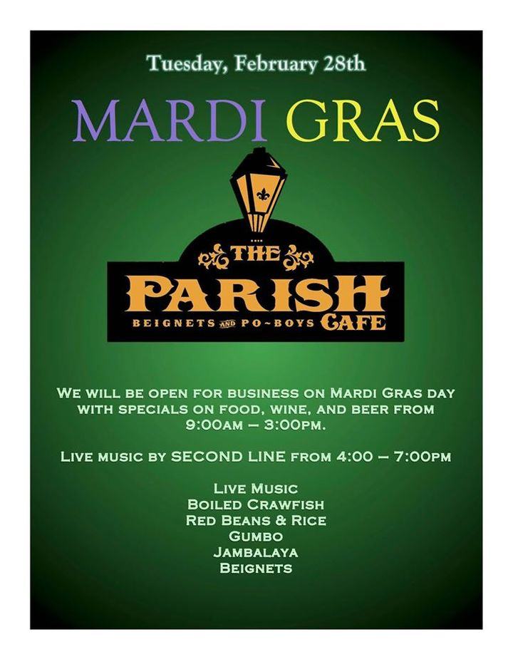 SECOND LINE @ The Parish Cafe - Healdsburg, CA