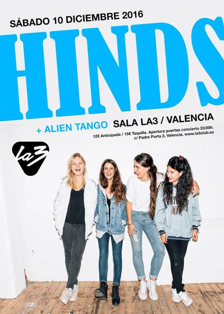 Hinds @ La 3 - Valencia, Spain