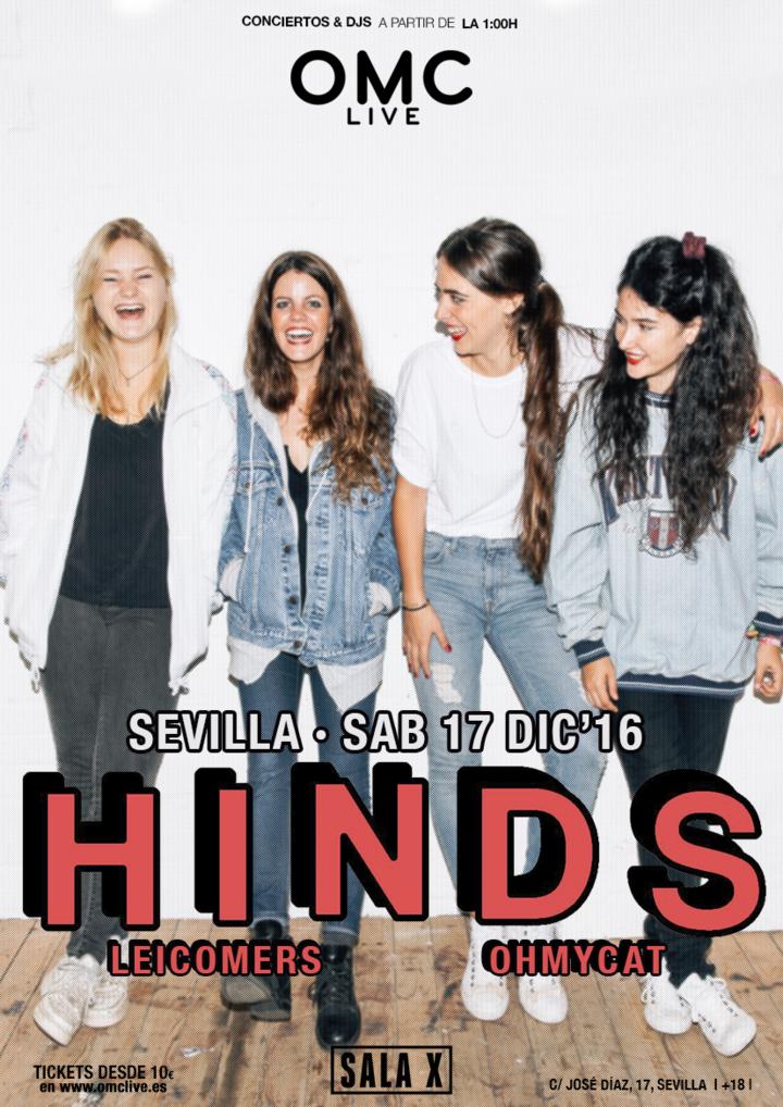 Hinds @ Sala X - Sevilla, Spain