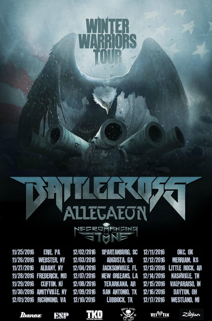 Allegaeon @ Rockstar Pro Arena - Dayton, OH