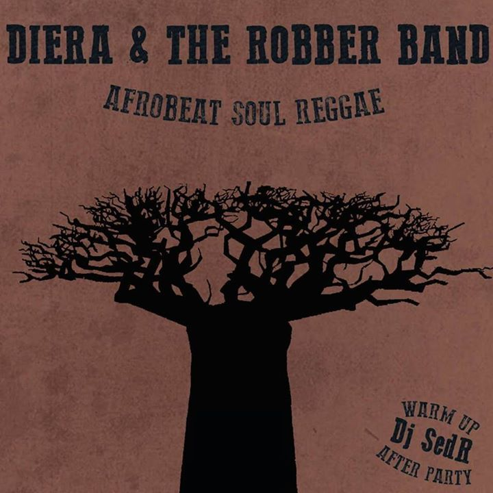 Diera & The Robber Band Tour Dates