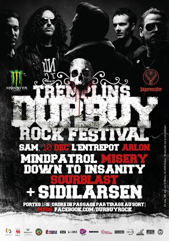 Down To Insanity @ L'Entrepot - Arlon, Belgium