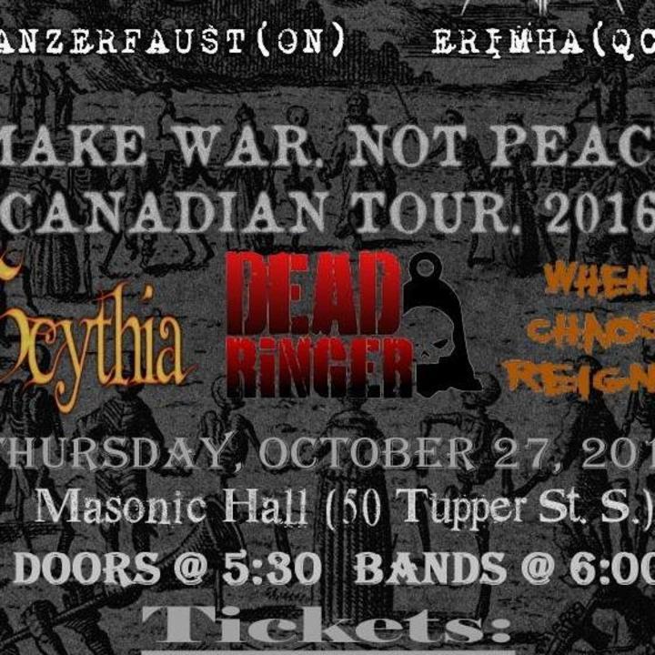 Dead Ringer Tour Dates