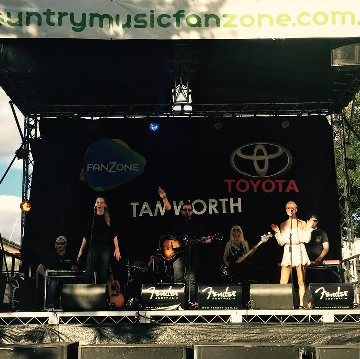 Jeanie @ Toyota Park - Tamworth, Australia