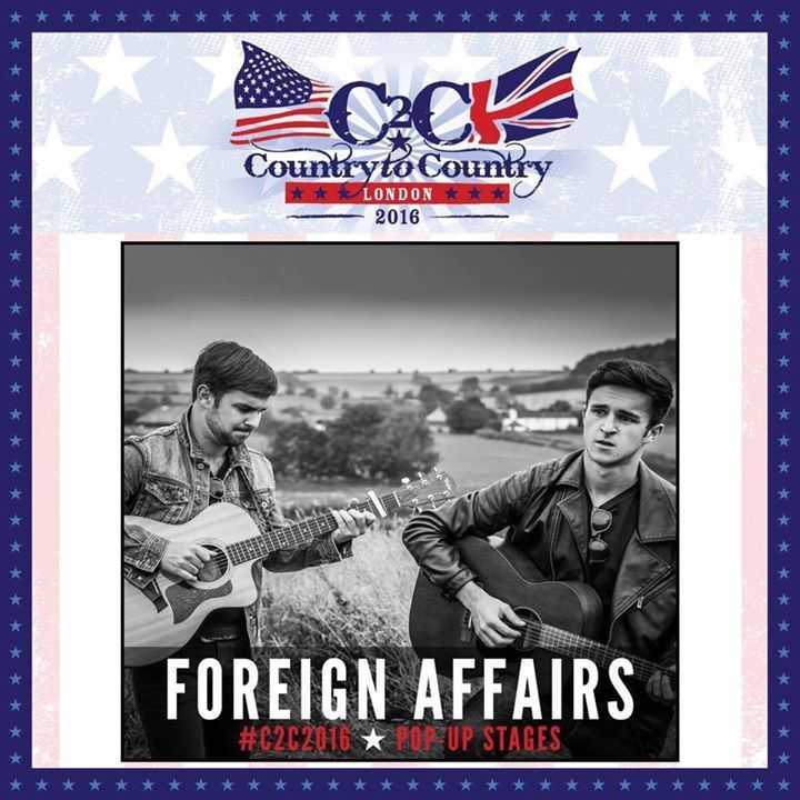 Foreign Affairs Tour Dates