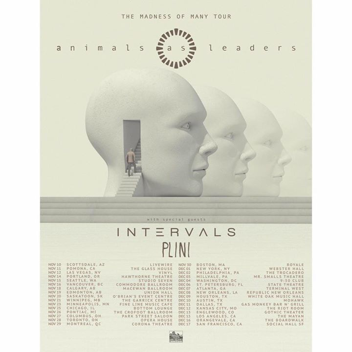 Animals as Leaders @ Waterfront - Norwich, United Kingdom