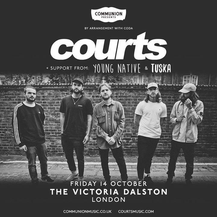 Courts Tour Dates