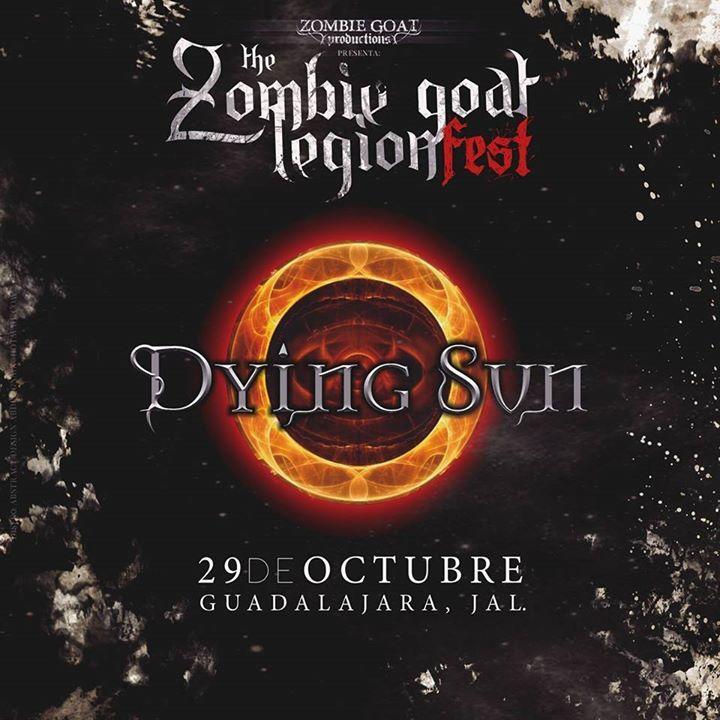 Dying Sun Tour Dates
