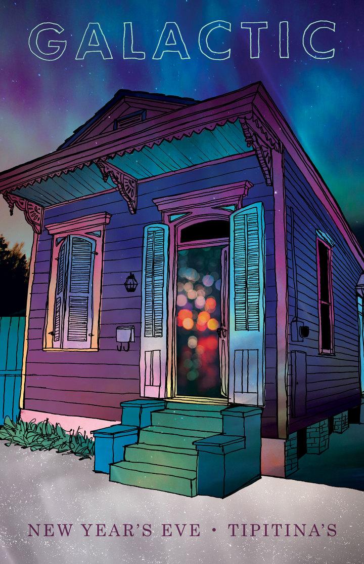 Galactic @ Tipitina's  - New Orleans, LA