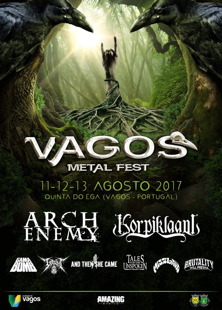 Arch Enemy @ Vagos Metal Fest - Vagos, Portugal