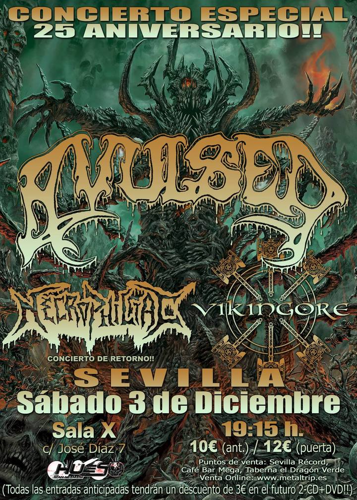 Vikingore @ Sala X - Sevilla, Spain