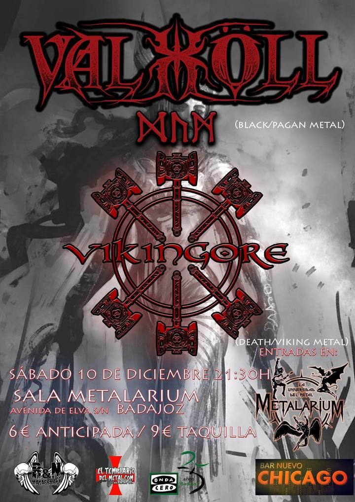 Vikingore @ Sala Metalarium - Badajoz, Spain