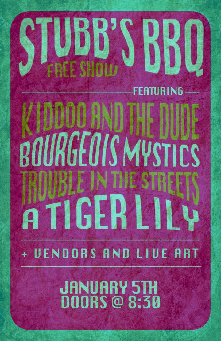 Bourgeois Mystics @ Stubb's - Austin, TX