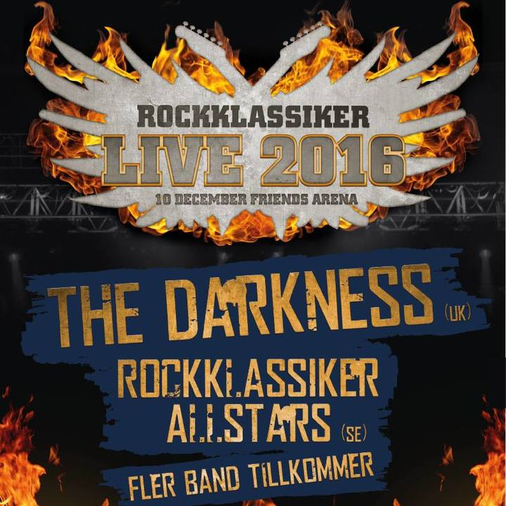 The Darkness @ Friends Arena - Stockholm, Sweden