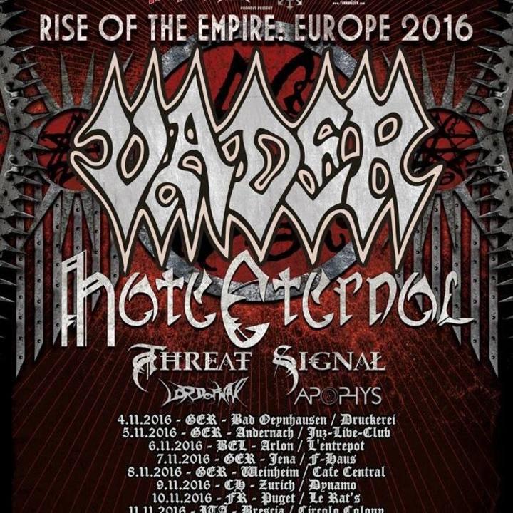Hate Eternal Tour Dates