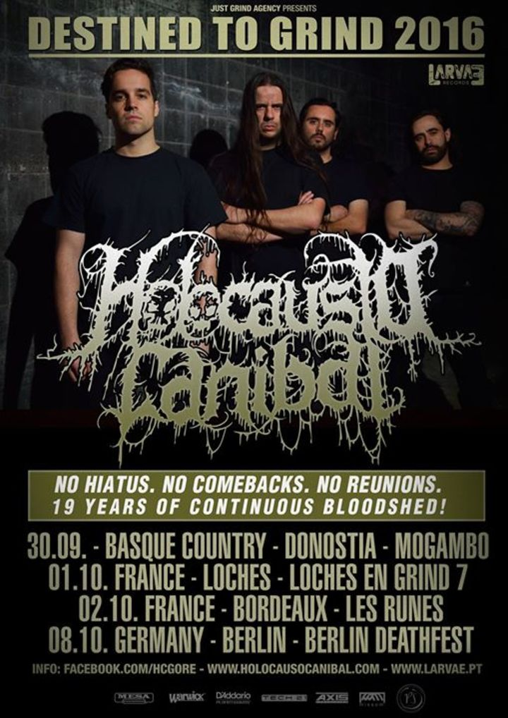 Holocausto Canibal Tour Dates