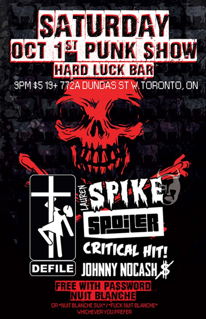 Lauren Spike @ Hard Luck Bar - Toronto, Canada
