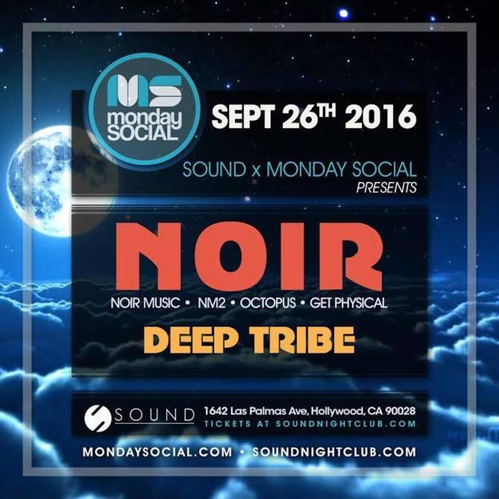 MONDAY SOCIAL Tour Dates