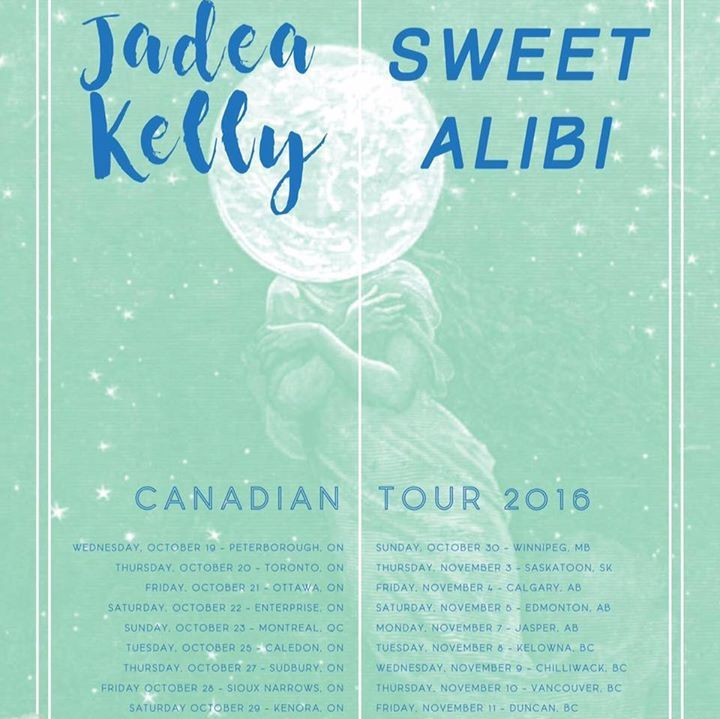 The Sweet Alibi Tour Dates