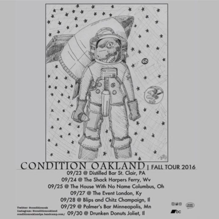 Condition Oakland Tour Dates