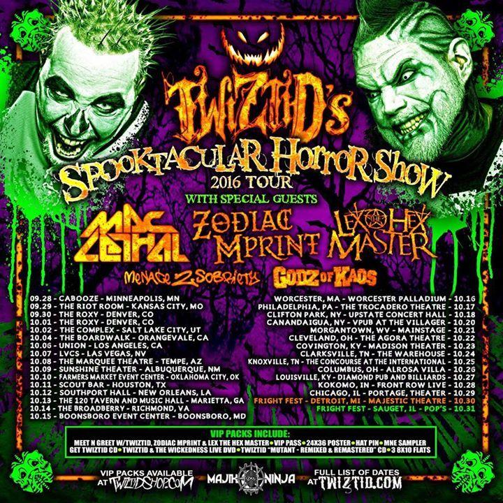 Twiztid Tour Dates