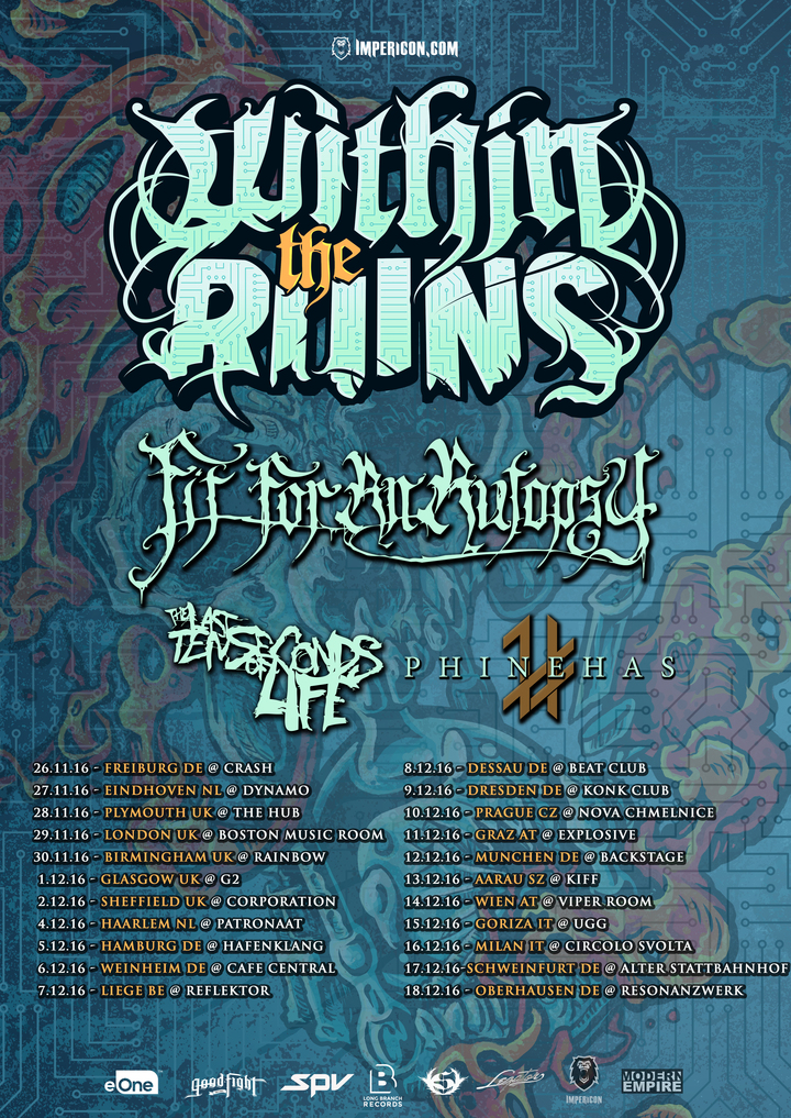 Within the Ruins @ Konk Club  - Dresden, Germany