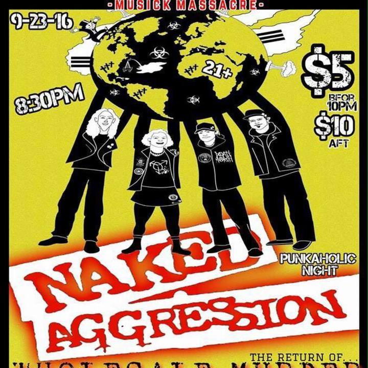 Naked Aggression Tour Dates