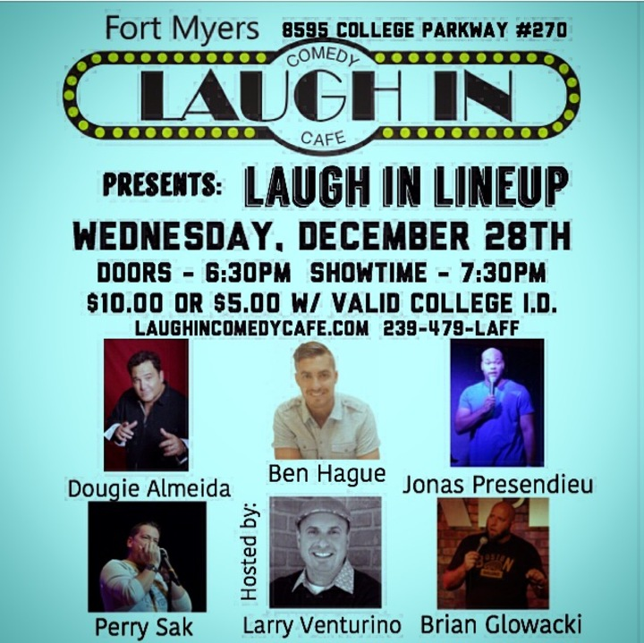 Larry Venturino @ Laugh In Comedy Cafe - Fort Myers, FL