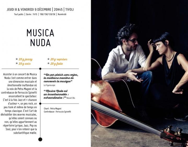 Musica nuda @ LE TIVOLI - Montargis, France
